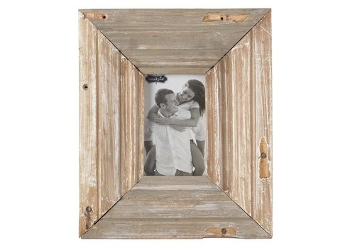 "4"" x 6""  RECLAIMED WOOD FRAME"
