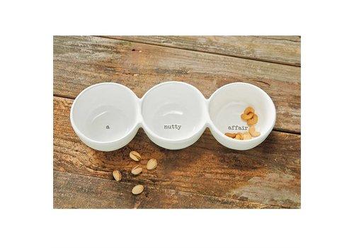 A Nutty Affair Ceramic Trio