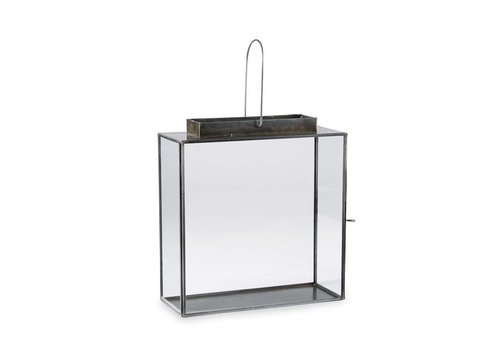SQUARE GLASS LANTERN