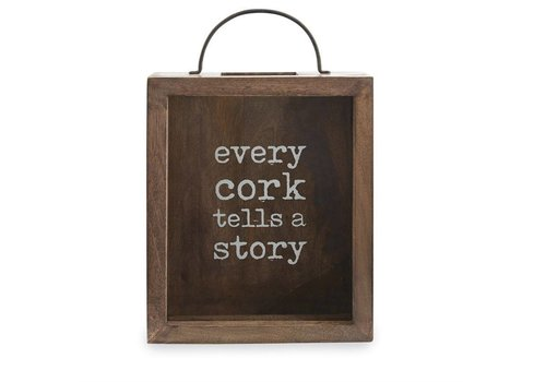 Every Cork Tells A Story Display