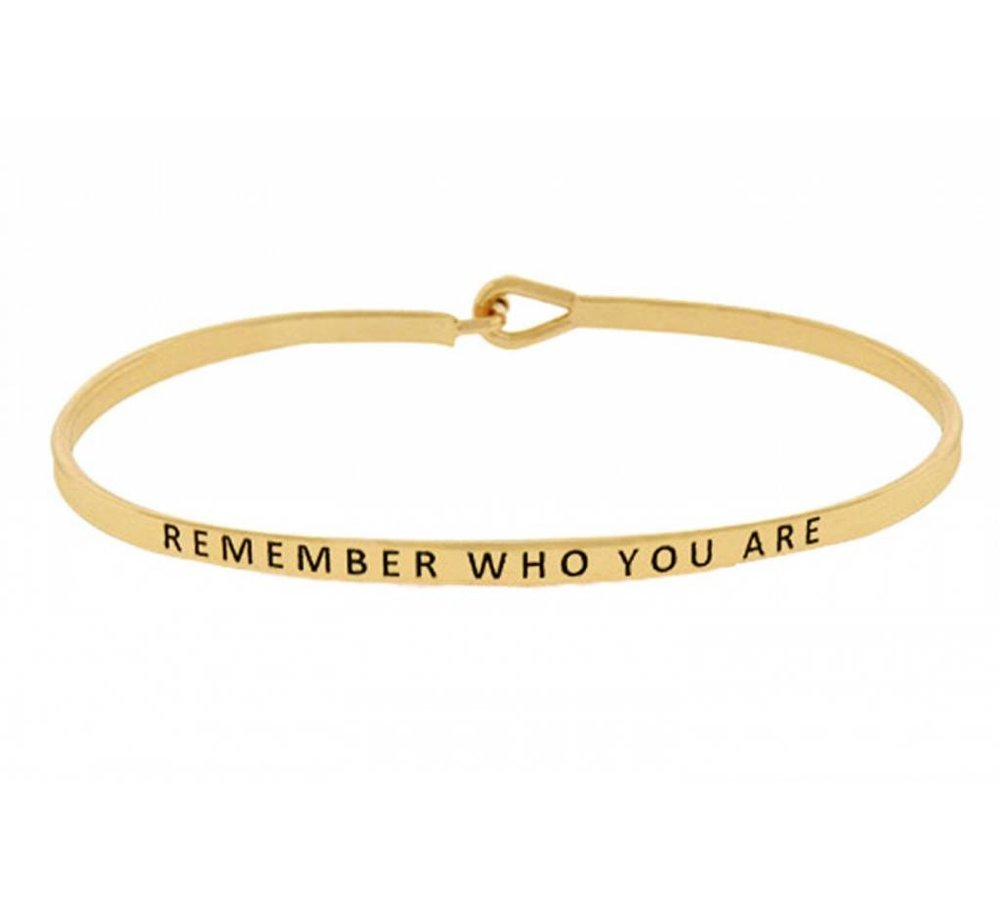 Remember Who You Are-Bracelet