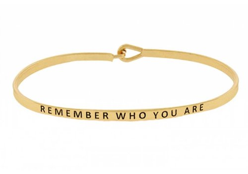 U.S. Jewelry House Remember Who You Are-Bracelet