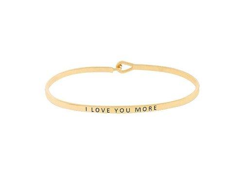 I Love You More-Bracelet