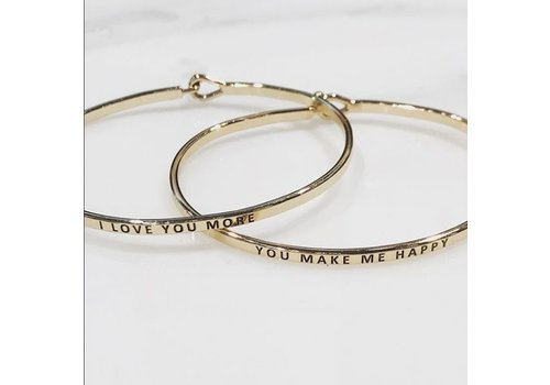 U.S. Jewelry House You Make Me Happy-Bracelet