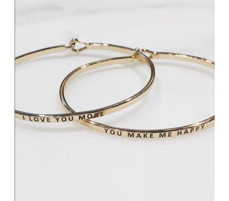 You Make Me Happy-Bracelet