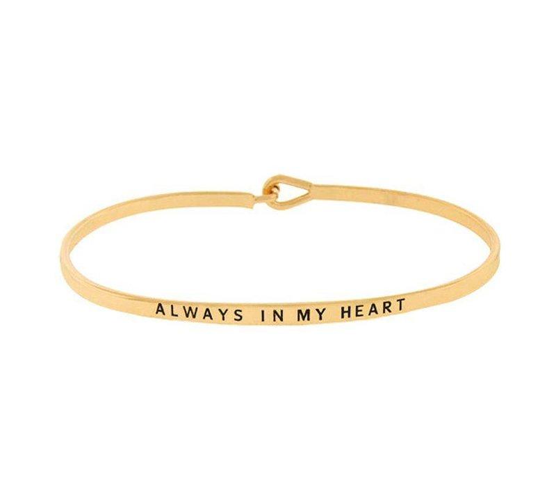 Always In My Heart-Bracelet