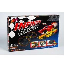 AFX RACEMASTERS (AFX) AFX21016 Infinity Raceway Slot Car Set (MG+)
