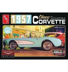 AMT AMT1016 Car Culture 1957 Corvette Convertible (Aqua)