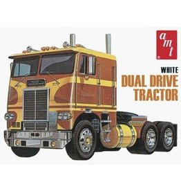 AMT AMT620 White Freightliner® Dual Drive Cabover Tractor
