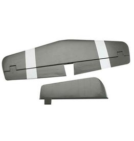 TOP FLITE (TOP) TOPA1727  Top Flite Tail Set Hrzntl Stab&Rudder P-51D 60 Size ARF