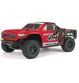 ARRMA (AR) AR102667  ARRMA 1/10 SENTON 4x4 MEGA Short Course Truck Red/Black
