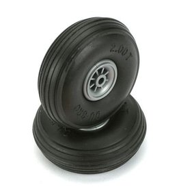 DU-BRO (DUB) DUB200T  Treaded Wheels (2)