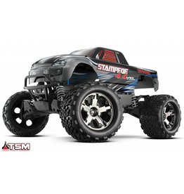 TRAXXAS (TRA) TRA670864SILVER  Traxxas Stampede 4X4 VXL Brushless 1/10 4WD RTR Silver