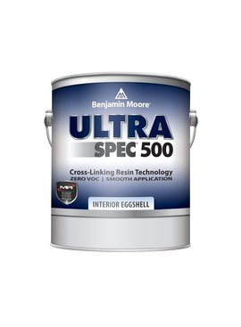 BENJAMIN MOORE ULTRA SPEC 500 INTERIOR EGGSHELL GALLON
