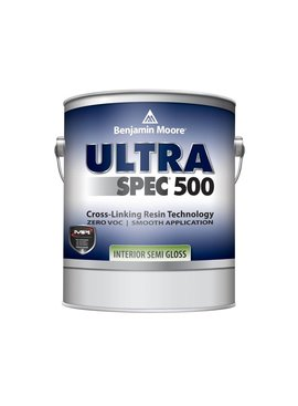 BENJAMIN MOORE ULTRA SPEC 500 INTERIOR SEMI GLOSS GALLON