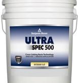 BENJAMIN MOORE N536 ULTRA SPEC 500 INTERIOR FLAT FIVE GALLON BUCKET
