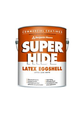 BENJAMIN MOORE SUPER HIDE INTERIOR LATEX EGGSHELL GALLON