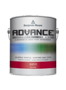 BENJAMIN MOORE ADVANCE SATIN GALLON