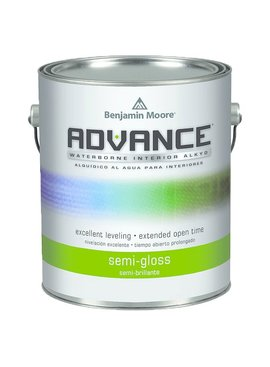 BENJAMIN MOORE ADVANCE  SEMI GLOSS GALLON