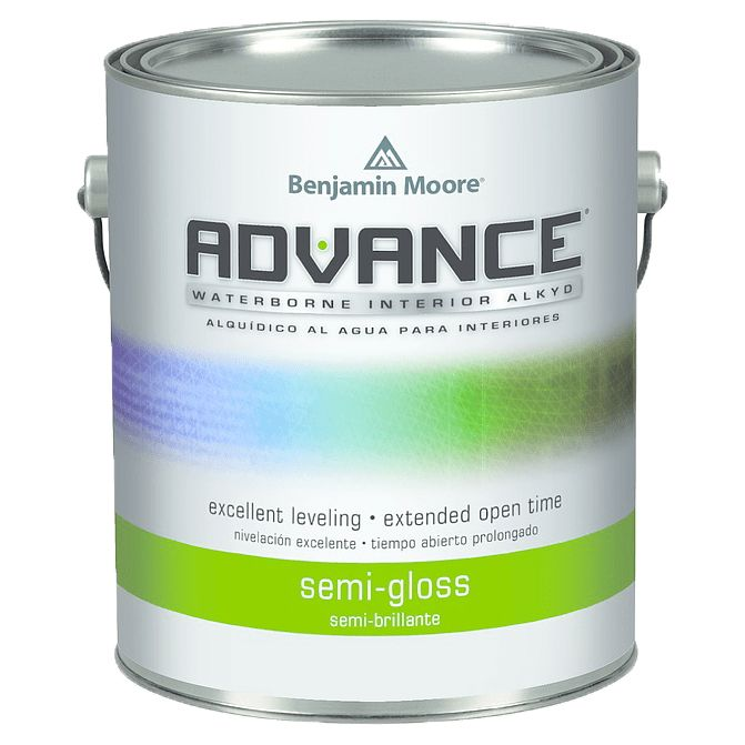 BENJAMIN MOORE 0793 ADVANCE WATERBORNE SEMI GLOSS GALLON