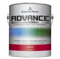 BENJAMIN MOORE 0792  ADVANCE WATERBORNE SATIN QUART
