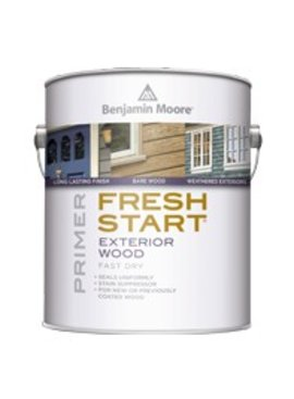 BENJAMIN MOORE Fresh Start Exterior Wood Primer Gallon