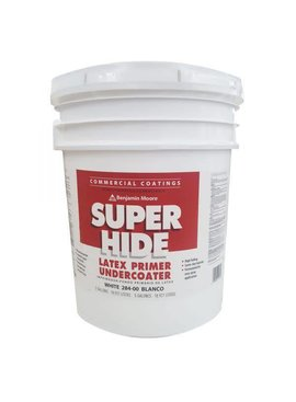 BENJAMIN MOORE SUPER HIDE LATEX PRIMER FIVE GALLON