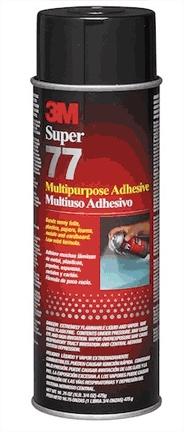 3M 3M 21210 ''77'' 16.75 OZ SUPER SPRAY ADHESIVE - EACH