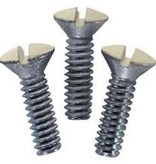 IVORY WALL PLATE SCREW CARDED 20/COUNT