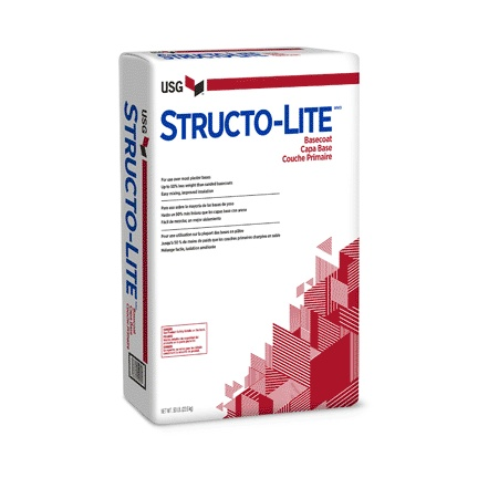 USG STRUCTO-LITE WHITE WALL PATCH 50 LB.