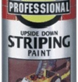 18OZ YELLOW STRIPING INVERTED SPRAY PAINT