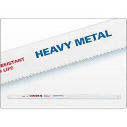 LENOX 12X1/2X.025 24T BI-METAL HAND HACKSAW BLADE 1/CRD