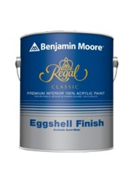 BENJAMIN MOORE REGAL CLASSIC INTERIOR EGGSHELL GALLON