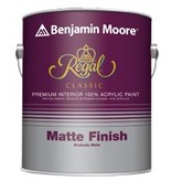 BENJAMIN MOORE N221 REGAL CLASSIC INTERIOR MATTE GALLON