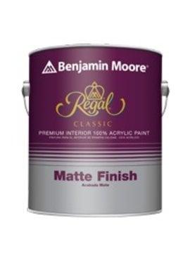 BENJAMIN MOORE REGAL CLASSIC INTERIOR MATTE QUART