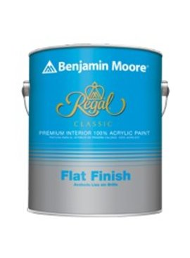 BENJAMIN MOORE REGAL CLASSIC INTERIOR FLAT GALLON