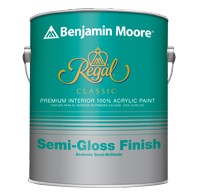 BENJAMIN MOORE N333 REGAL CLASSIC INTERIOR SEMI GLOSS QUART