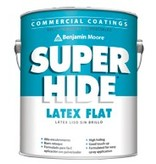 BENJAMIN MOORE 0282 SUPER HIDE CEILING FLAT WHITE GALLON