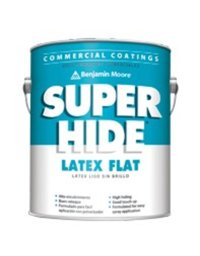 Benjamin Moore 0282 Super Hide Lat Flat Ceiling White Five Gallon