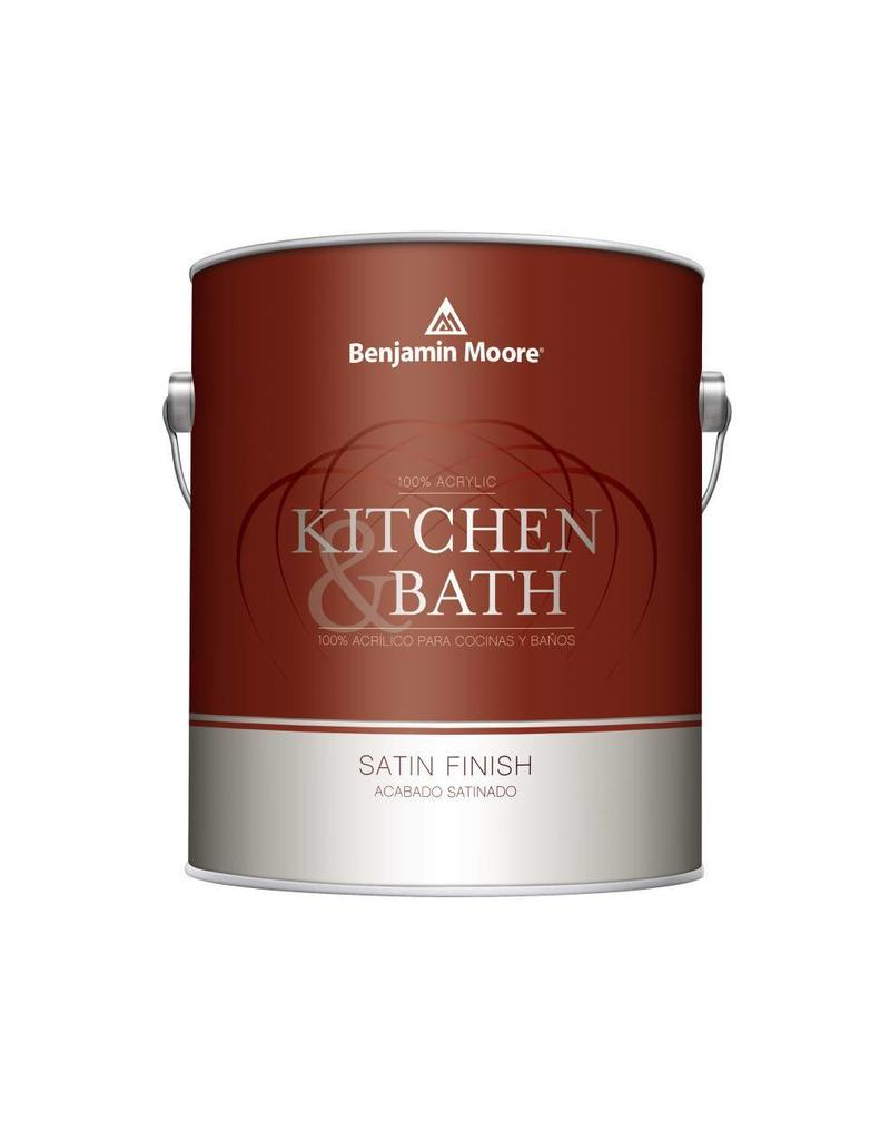W322 Kitchen And Bath Interior Satin Latex Quart Cappys Paint And