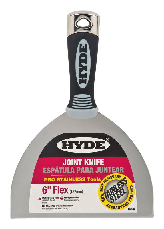 HYDE TOOLS 6'' FLEXIBLE PRO STAINLESS JOINT KNIFE