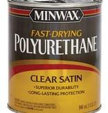 MINWAX FAST DRY POLYURETHANE SATIN QUART