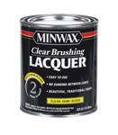 MINWAX CLEAR BRUSHING LACQUER SEMI-GLOSS QUART