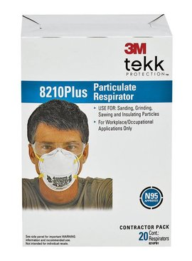 3M DUST/MIST RESPIRATOR MASK 20/BOX