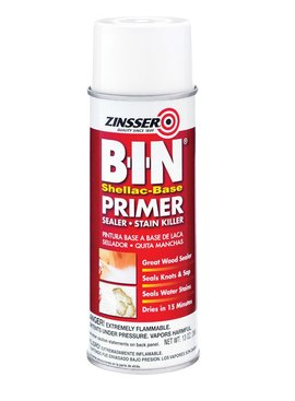 RUST-OLEUM CORPORATION 13 OZ SPRAY B-I-N PRIMER-SEALER STAIN KILLER