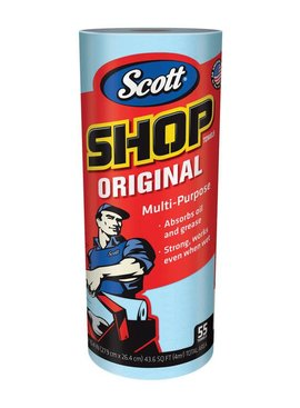 SCOTT PAPER PRODUCTS SHOP TOWELS ON A ROLL
