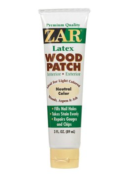 UGL LABS INC ZAR Wood Patch 309 Neutral - 3 OZ tubes
