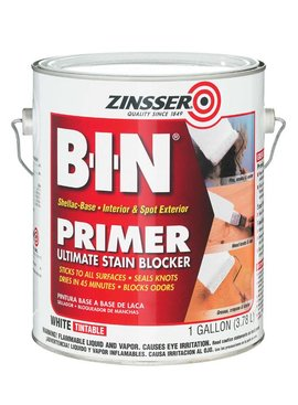 RUST-OLEUM CORPORATION ZINSSER 00901 B-I-N PRIMER-SEALER SHELLAC - GAL