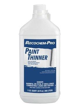 RECOCHEM-PRO PAINT THINNER 1 QT.