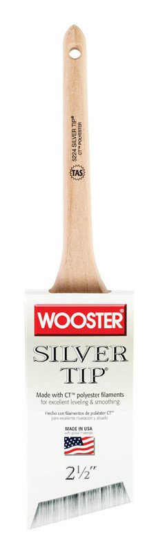 WOOSTER BRUSH COMPANY WOOSTER 2 1/2'' SILVER TIP THIN ANGLE SASH